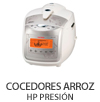 Cocedores arroz HP Presión
